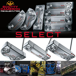 2018年 Scotty Cameron Select 特注パター